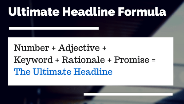 Ultimate Headline Formula