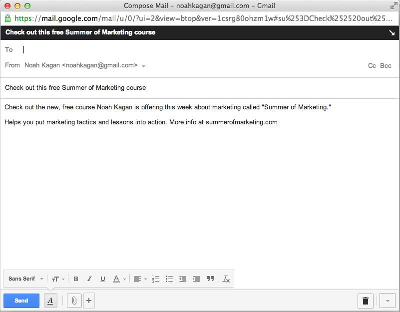 Samuel L Jackson Marketing Hack email