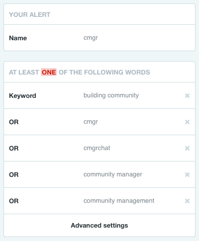 mention community manager search