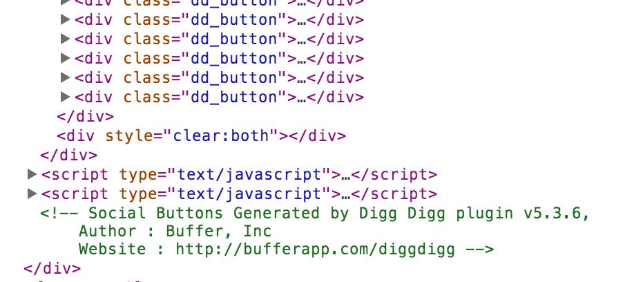 DiggDigg button code