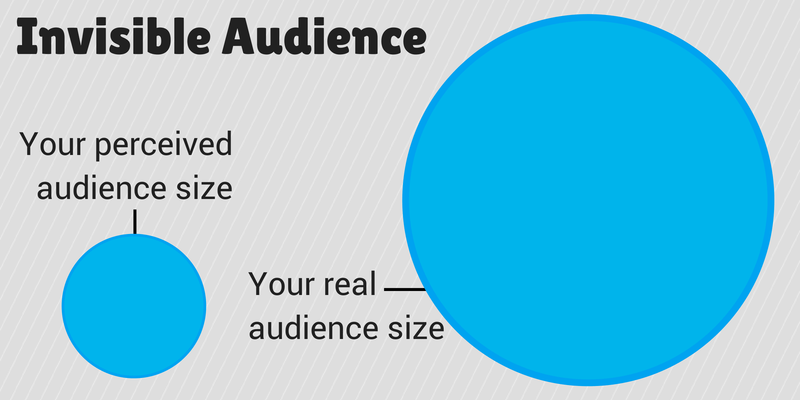 Social media audience size