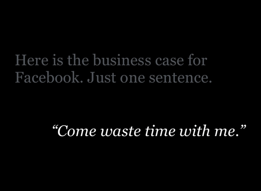 Facebook's mission statement