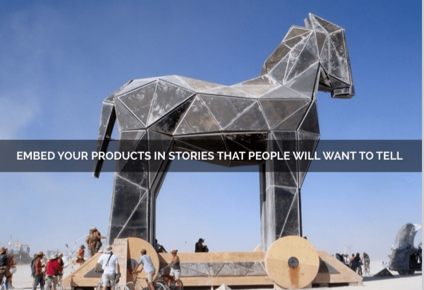 Viral content storytelling
