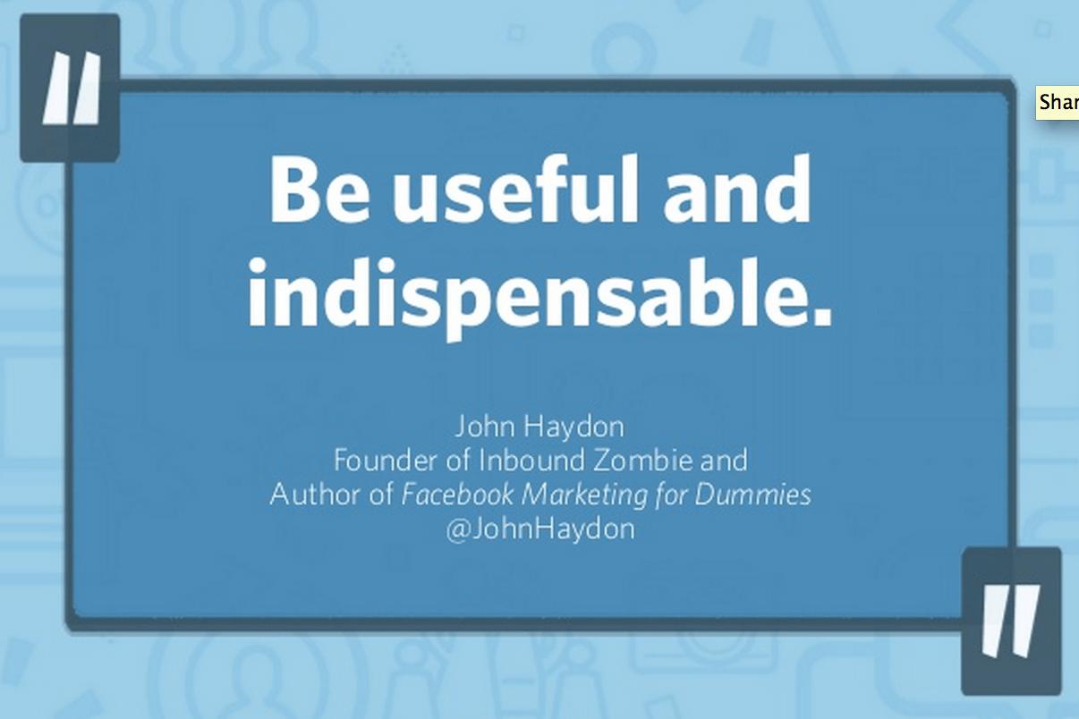 useful, indispensable