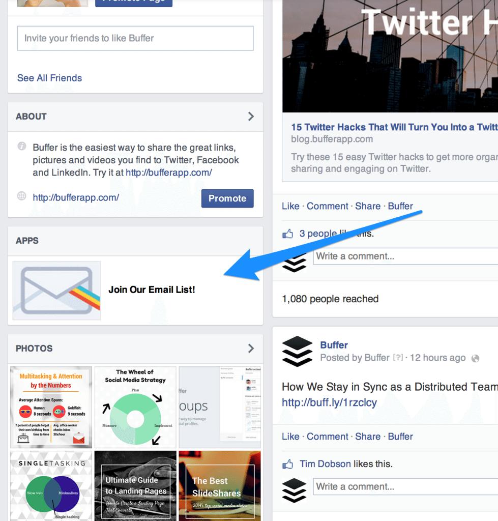 facebook-email-list-signup
