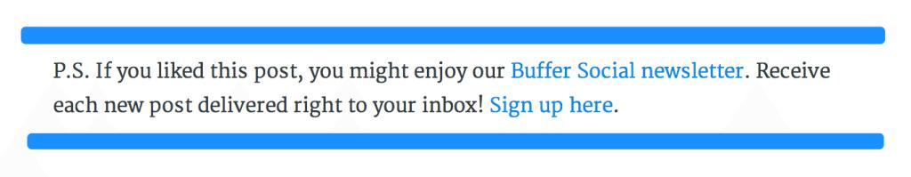 postscript buffer blog