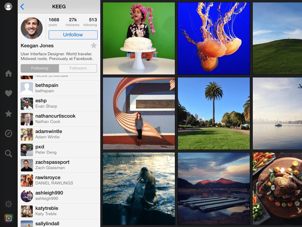flow instagram app
