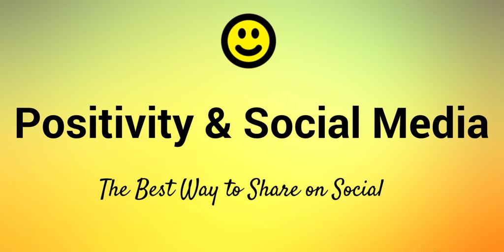 positivity social media