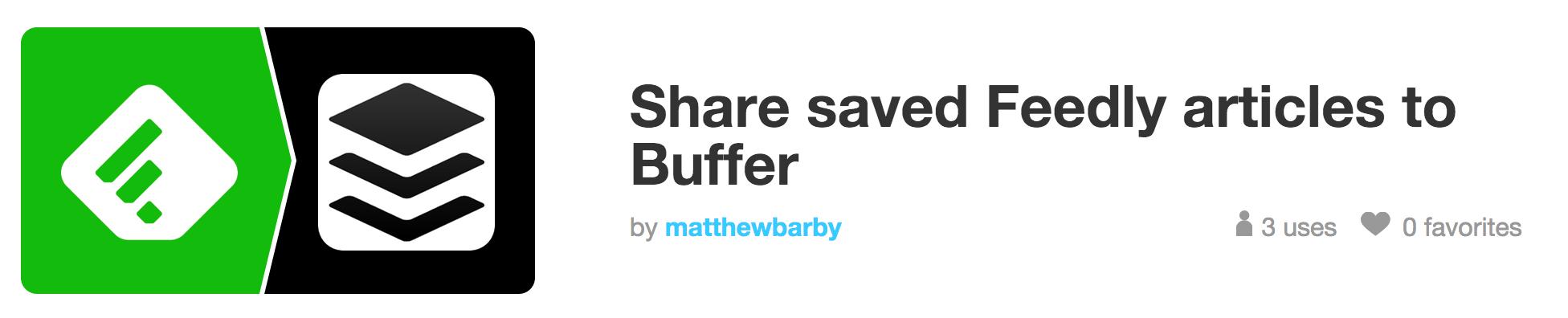 feedly buffer