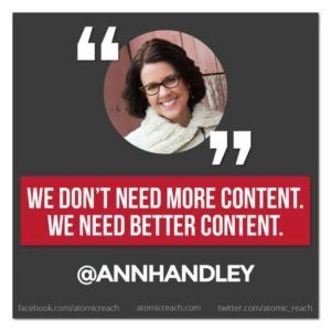 ann handley quote