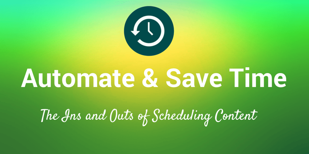 automate save time social media