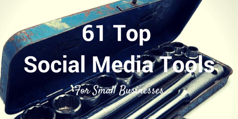 61 top social media tools
