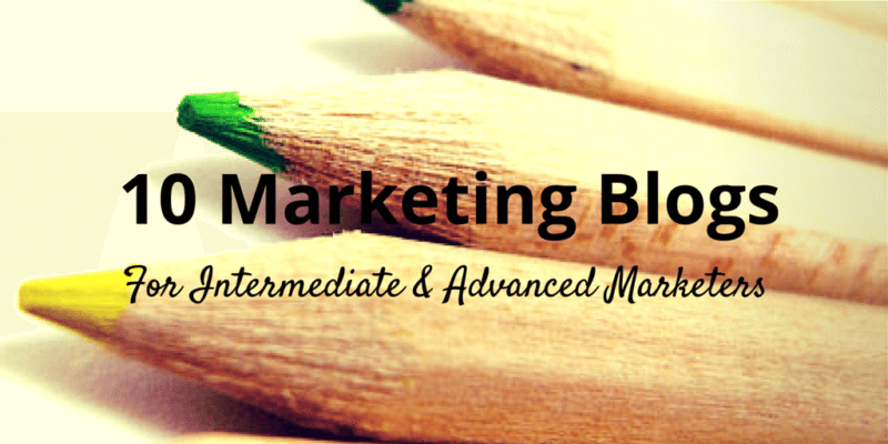 10 marketing blogs