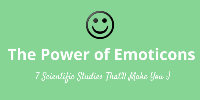 7 reasons to use emoticons