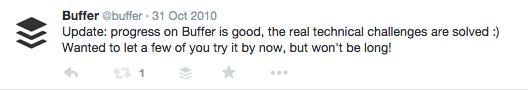 buffer transparent tweets