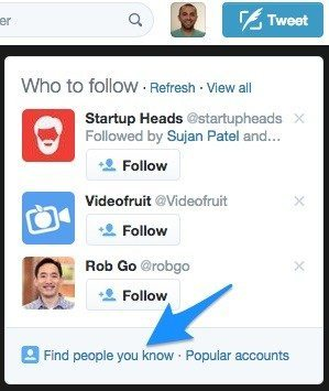 1 twitter who to follow