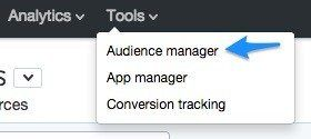 4 twitter audience manager