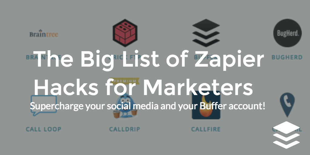 big list of zapier hacks