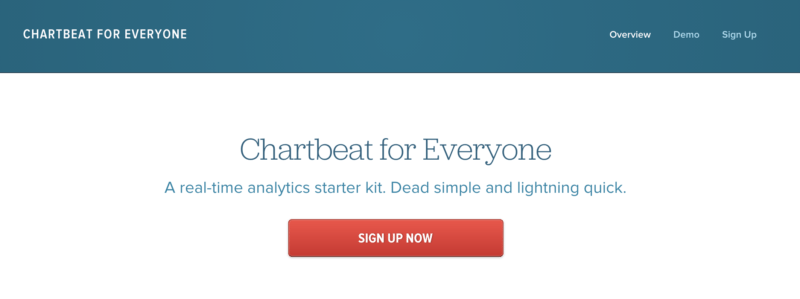 chartbeat trial
