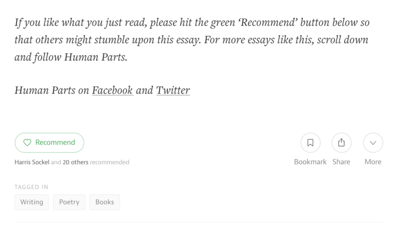 follow on social medium
