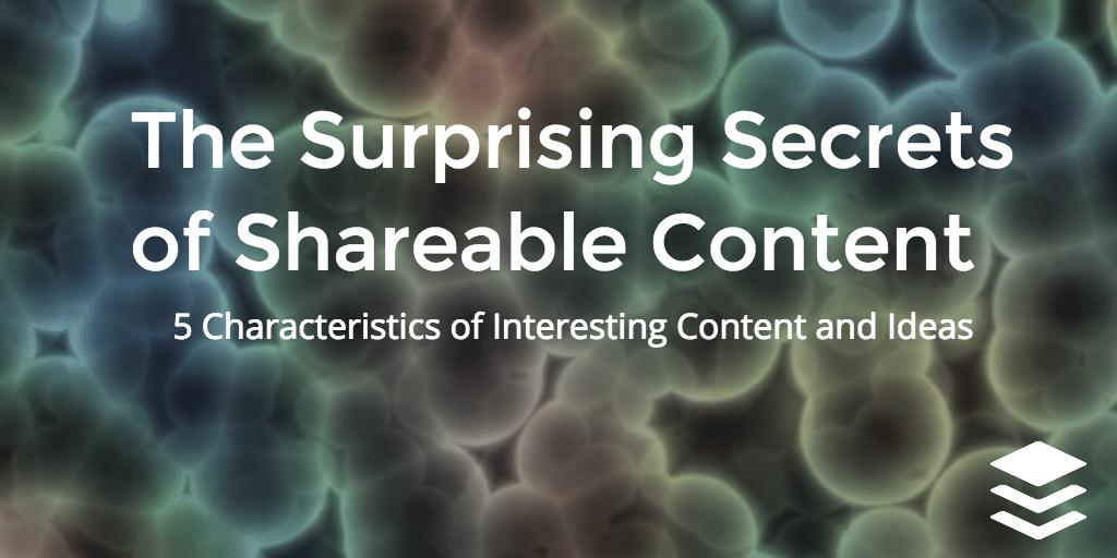 secrets of shareable content
