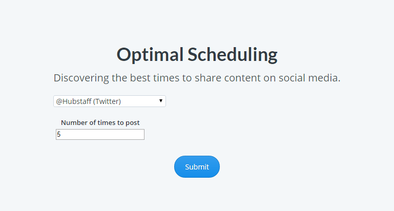 Optimal-Scheduling