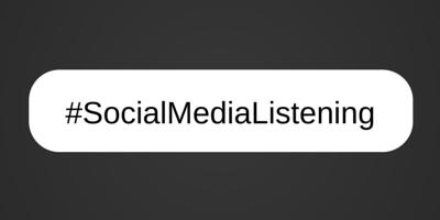 #SocialMedia Listening