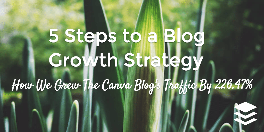 blog growth strategy