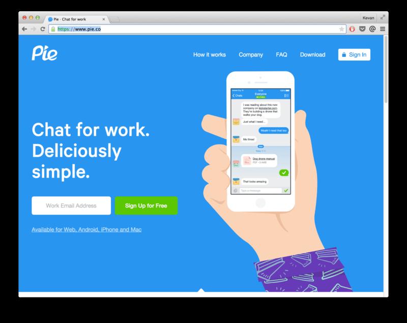 Pie website