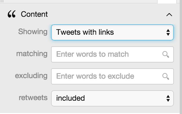 tweetdeck content