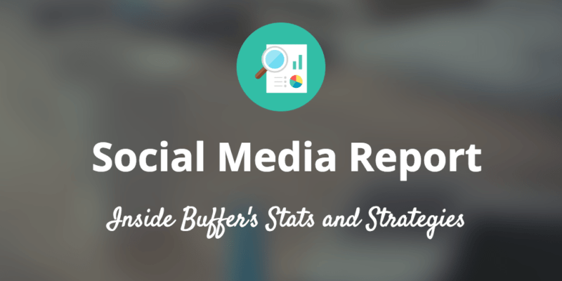 buffer marketing report