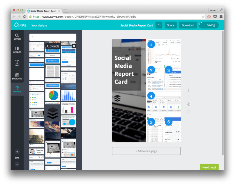 A quick example of how to make an instructographic in Canva. Super simple interface and grid that any brand can use!