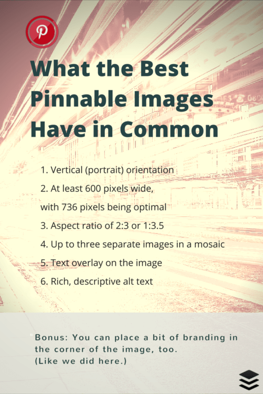 Best practices for creating Pinnable images - 6 quick tips for creating Pins for your website or blog