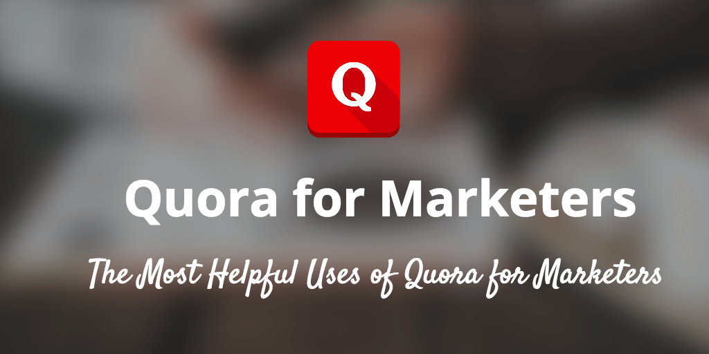 quora for marketers