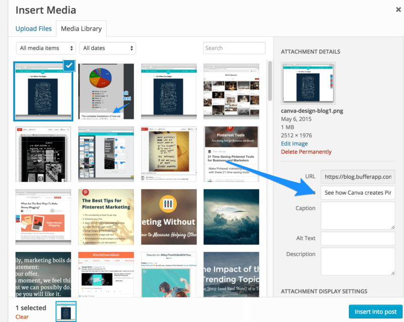 An inside look at how to create keyword-rich descriptions for every image, using WordPress's media library