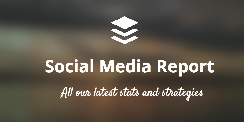 Buffer social media report