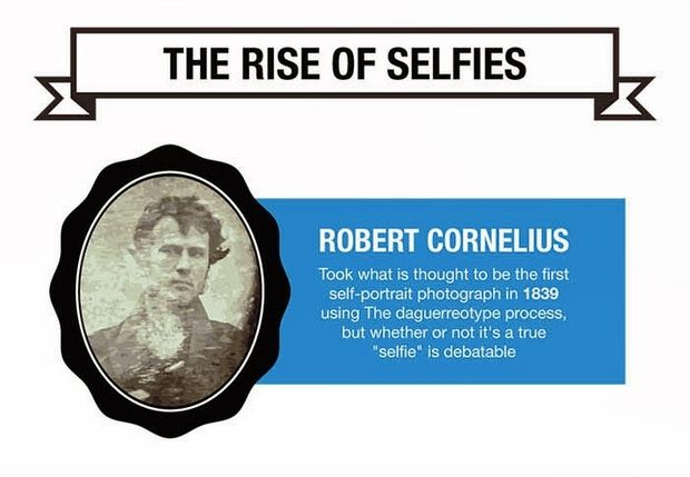 the first selfie?