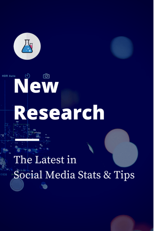 New social media research