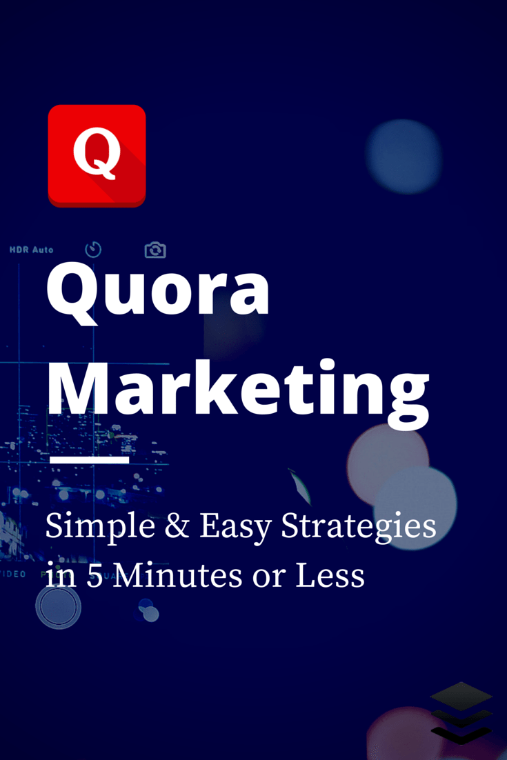 Quora marketing strategies