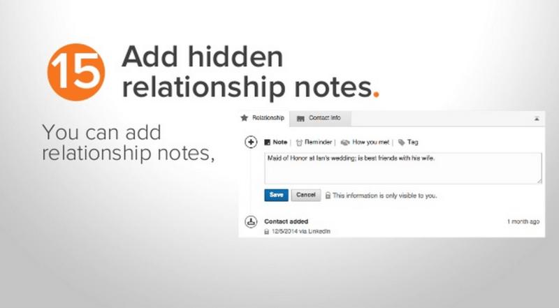 LinkedIn tip