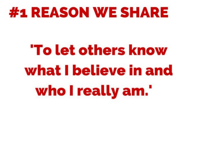 Reason we share