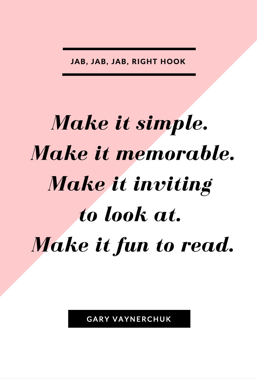Make it fun to read