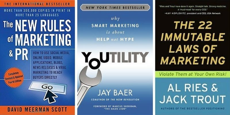 Marketing books for business