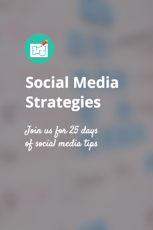 Social Media Strategies email course