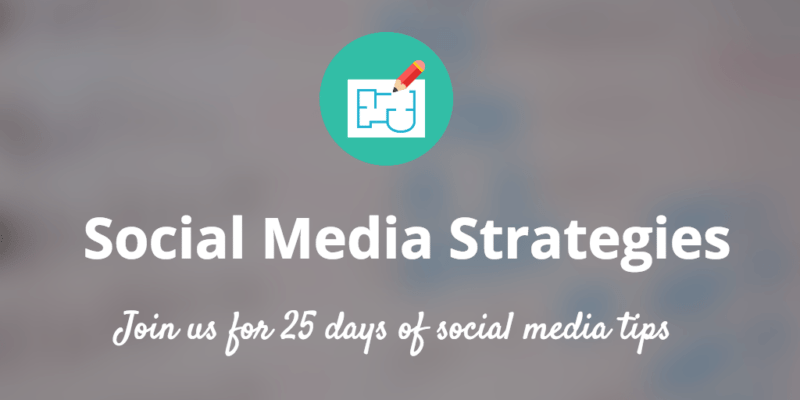 Social Media Strategies email course banner