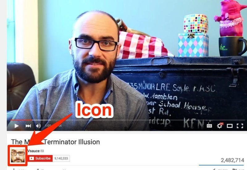 Vsauce video icon