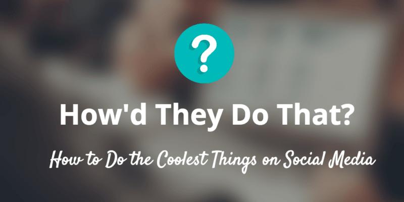diy social media tips