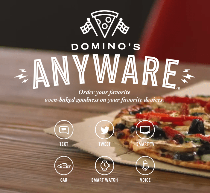 Dominos anyware