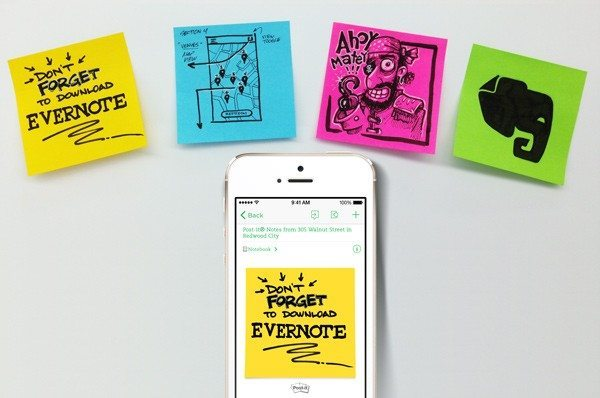 evernote post its