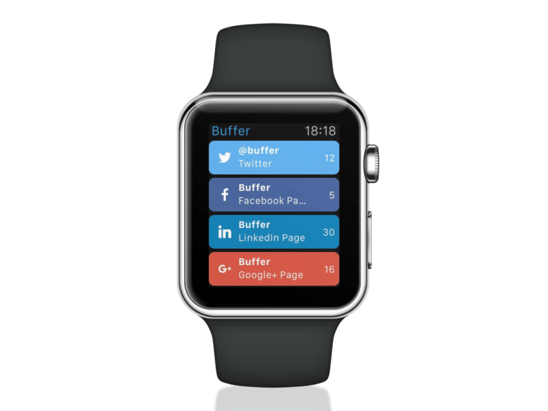 Buffer for Apple Watch 1